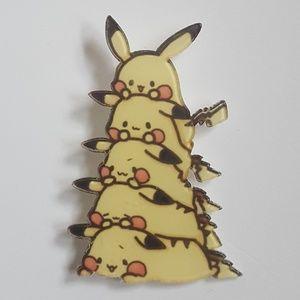 Jewelry - Stacked Pikachu Acrylic Kawaii Pin